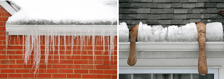 Ice dam on your roof?