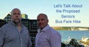 matt and roy bus fare 300x159 Lets Talk About The Proposed Senior Bus Fare Hike